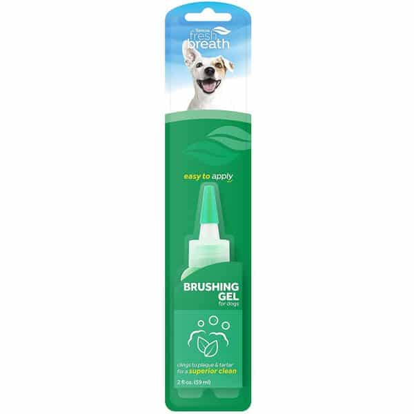 TropiClean Brushing Dental & Oral Care Gel for Dogs & Cats